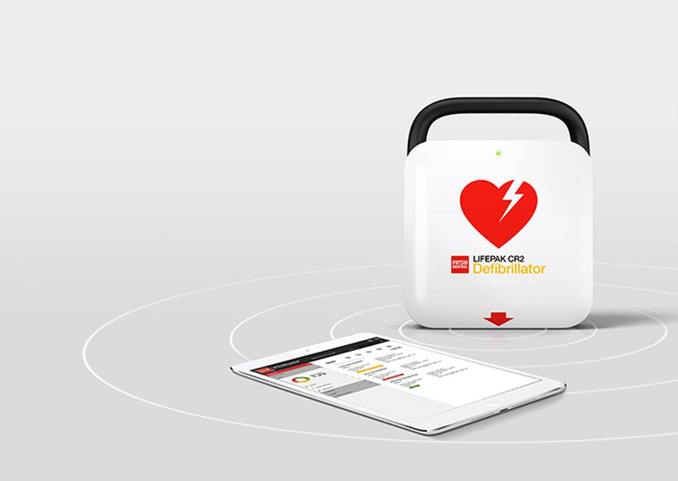 System informacji o defibrylatorach LIFEPAK AED